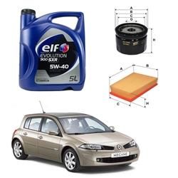 Pack Manutenção Renault Megane II 1.5 DCI - PACK_REN01
