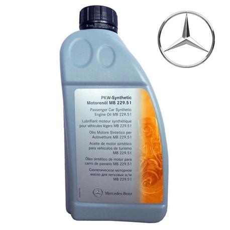 Oleo Motor Mercedes 229.51 5w30 Original 1L - A000989970116#DIV