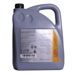 Oleo Motor Mercedes 229.51 5w30 Original 5L - M229.515L#DIV