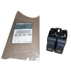 Interruptor Duplo Vidros Renault Original - 8200542104#REN