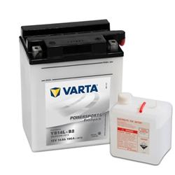 VARTA MOTO-12V 14Ah 190 AEN 136x91x166 - YB14L-B2#VAM