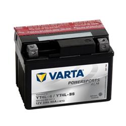 VARTA MOTO AGM-12V 3Ah 40 AEN 114x71x86 - YT4L-BS#VAM