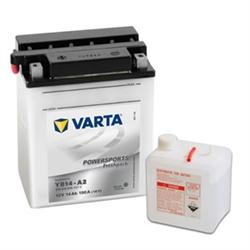 VARTA MOTO-12V 14Ah 190 AEN 136x91x166 - YB14-A2#VAM