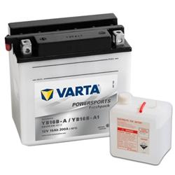 VARTA MOTO-12V 16Ah 200 AEN 158x89x162 - YB16B-A#VAM