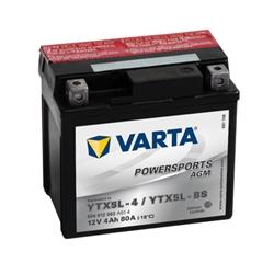 VARTA MOTO AGM-12V 4Ah 80 AEN 114x71x106 - YTX5L-BS#VAM
