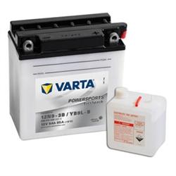 VARTA MOTO-12V 9Ah 85 AEN 136x76x140 - 12N9-3B#VAM