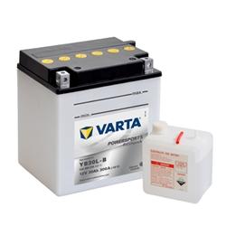 VARTA MOTO-12V 30Ah 300 AEN 168x132x176 - YB30L-B#VAM