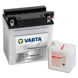 VARTA MOTO-12V 11Ah 150 AEN 136x91x146 - YB10L-B#VAM