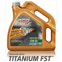 Castrol Edge 10W60 Titanium SUPERCAR FST 4L