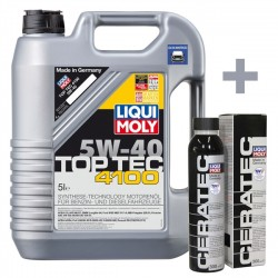 Liqui Moly Top Tec 4100 5W40 5L + Ceratec 300ml