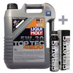 Liqui Moly Top Tec 4200 5W30 5L + Ceratec - LM8973+CERA