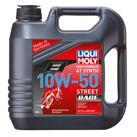 Liqui Moly MotorBike 4T SYNTH 10w50 4L - LM1686
