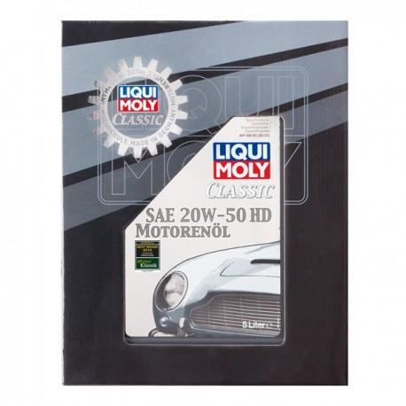 Liqui Moly Classic Motor Oil 20w50 HD 5L - LM1129