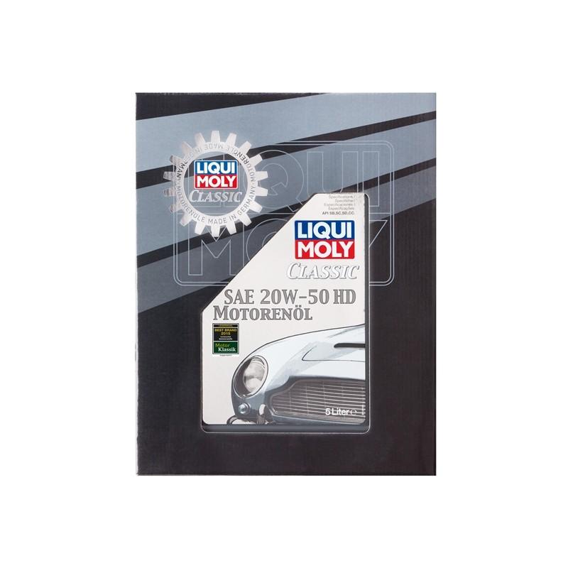 Liqui moly classic motor oil 20w50 hd 5l lm oleos marca for Classic motor oil 20w50