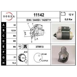 EAI 11142 Motor de arranque - 11142#EAI