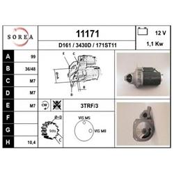 EAI 11171 Motor de arranque - 11171#EAI
