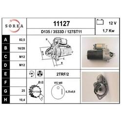 EAI 11127 Motor de arranque - 11127#EAI