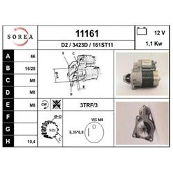 EAI 11161 Motor de arranque - 11161#EAI