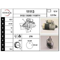 EAI 11113 Motor de arranque - 11113#EAI