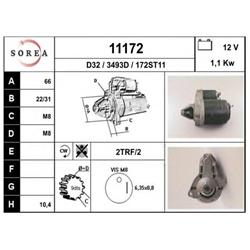 EAI 11172 Motor de arranque - 11172#EAI