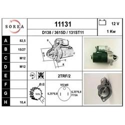 EAI 11131 Motor de arranque - 11131#EAI