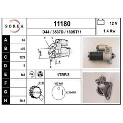 EAI 11180 Motor de arranque - 11180#EAI