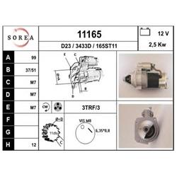 EAI 11165 Motor de arranque - 11165#EAI