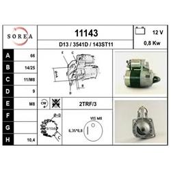 EAI 11143 Motor de arranque - 11143#EAI