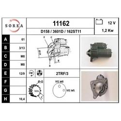 EAI 11162 Motor de arranque - 11162#EAI