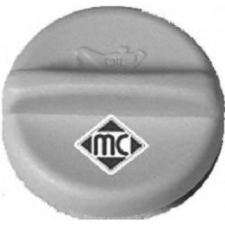 Metalcaucho 03674 Tampa, tubo de enchimento de óleo - 03674MC