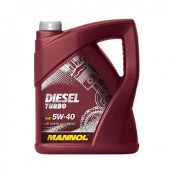 MANNOL Diesel Turbo 5W40 5L - MNDT50510-5