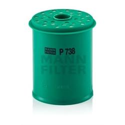 MANN-FILTER P 738 x Filtro de combustível - P738x#MNN
