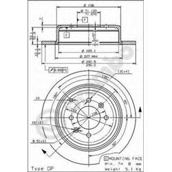 AP 14647 Disco de travão - 14647#AP