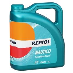 Oleo Repsol NAUTICO Gasolina BOARD 4T 10W40 4L - RP132N54#REP