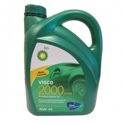BP Visco 2000 A3/B3 15W40 - 5 Litros - 4008177008900