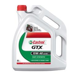 Oleo Motor Castrol GTX 15W-40 A3/B3 5L - C15W40G/5#CAS