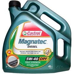 Oleo Motor Castrol Magnatec Diesel 5W40 DPF 4L - C5W40D/4#CAS