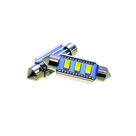 Led Vallux T11 Alta Intensidade 6 SMD 36mm canbus - VALLUX1245