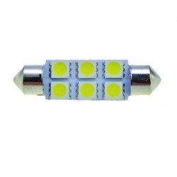 Led Vallux T11 Alta Intensidade 4 SMD 42mm - VALLUX1238