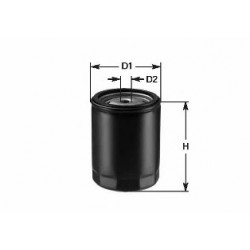 CLEAN FILTERS DO 862 Filtro de óleo - DO862