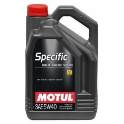 Motul Specific VW 505.01 502.00  5W40 - 5L - Motul101575