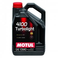 Motul 4100 Turbolight 10W40 - 5 Litros - Motul103400