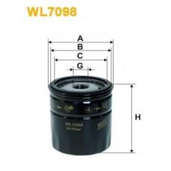 WIX FILTERS WL7098 Filtro de óleo