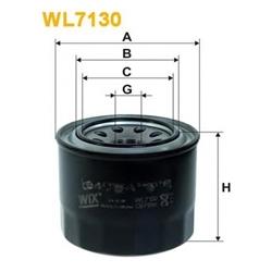 WIX FILTERS WL7130 Filtro de óleo