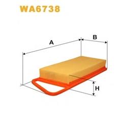 WIX FILTERS WA6738 Filtro de ar - WA6738