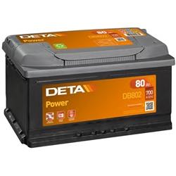 Bateria de Arranque DETA POWER 80ah