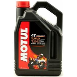Óleo de Mota Motul 7100 4T 10w40 4L - MOTUL710010W40