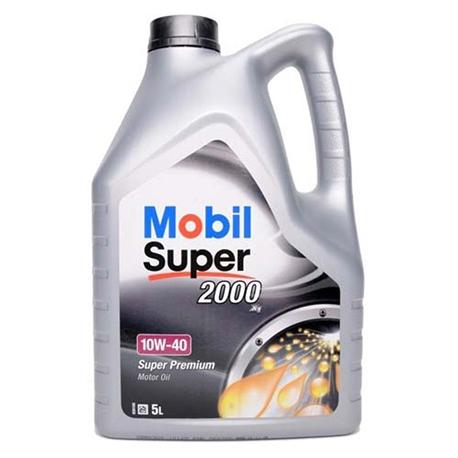 Óleo Motor Mobil Super 2000 x1  10w40 5L - MOB10W40/5 MOB