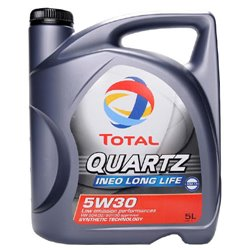 TOTAL Quartz INEO LongLife 5W30 - 5L