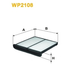 WIX FILTERS WP2108 Filtro, ar do habitáculo - WP2108#WIX